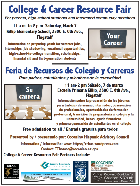 March 7 — College & Career Resource Fair