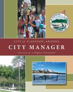 City of Flagstaff City Manager