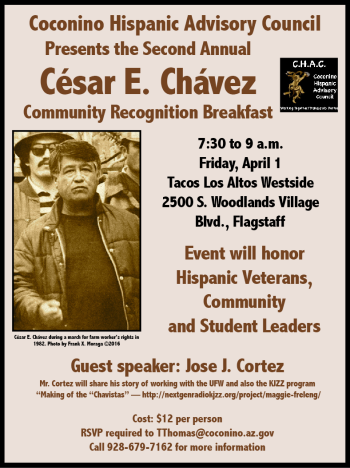 04-01-16 Cesar E. Chavez Community Recognition Breakfast